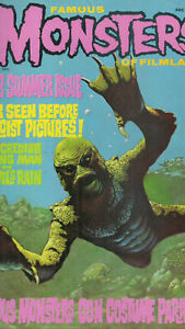 Famous Monsters of Filmland October 1975 #120 Creature from the Black Lagoon