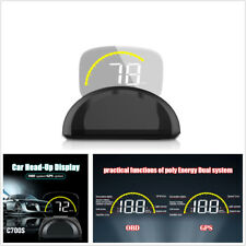 C700s Car HUD OBDII+GPS System Car Head Up Display W/ Mirror Digital Projection