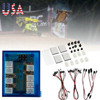 No Solder Realistic New Highlight 12 LED Lighting Kit For RC Car Truck 1/10th US
