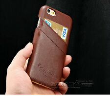 """Fashion Leather Card holder Wallet Phone Case iPhone 6/6S(4.7"""") & 6/6S PLUS(5.5"""""""