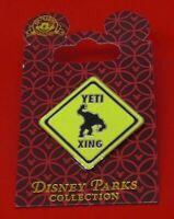 Walt Disney Parks Enamel Pin Badge on Backing Card Yeti Xing 2008