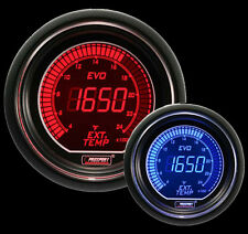 EGT Gauge 52mm EVO Series Prosport Red and Blue display