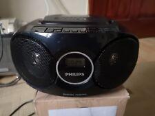 Philips AZ215B boombox  CD radio black