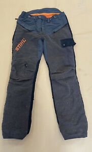 Stihl Chainsaw Trousers Design C Size Large
