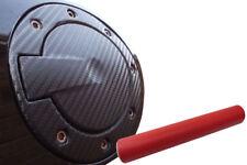 Premium Tankdeckel Tank Deckel Auto PKW Design Folie Set in Rot Matt