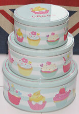 Stainless Steel Easy Clean Round Cake Tins