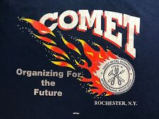 vtg T shirt Sheet Metal Union Local 46 Comet size XL extra large Rochester NY r3
