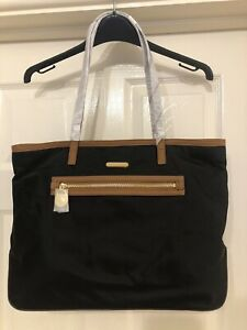 BNWT Black Michael Kors Kempton Tote Bag