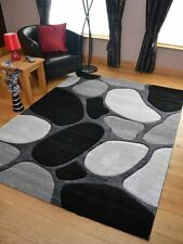 New Modern Pebble Stone Effect Rugs Long Floor Runners Small Medium Large Soft