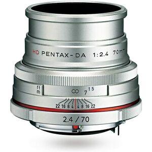 PENTAX telescopic single focus lens HD PENTAX-DA 70mm F2.4Limited silver K mount