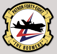 Us Navy Official Vp-48 Boomers Sticker