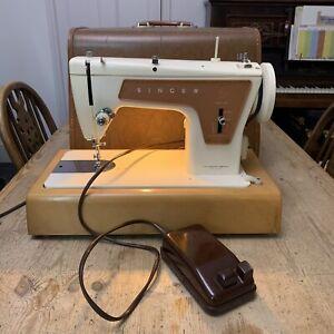 Vintage Singer Fashion Mate 239 Heavy Duty Semi Industrial Sewing Machine