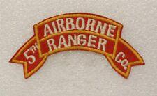 New listing 5th Airborne Ranger Co, Korea Patch modern Copy (U.S. Army 0953)