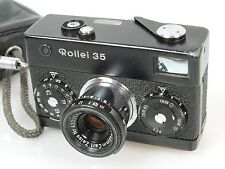 Rollei 35 schwarz verchromt?? Nr. 3010008 !!! MADE IN GERMANY black chrome??