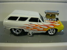 Muscle Machines MM Chevy ll Wagon White RR M2 HW Hot Wheels Real Riders 1/64