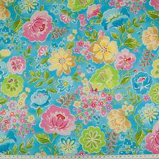 Jasmine Garden - 100% Cotton Fabric - Dressmaking, Crafting - by 1/2 Metre