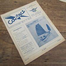 RADIO CONTACT NUMERO 21 MAI 1953