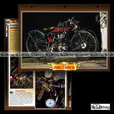#097.05 Fiche Moto GNOME & RHÔNE 500 D2 1927-1928 Classic Motorcycle Card