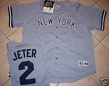 MAJESTIC NEW YORK YANKEES JETER JERSEY MENS 2XL AWAY