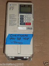 yaskawa cimr-f7u40p4 AC Drive VFD .75hp 480v 460v 400v 380v 50/60hz  3/4hp