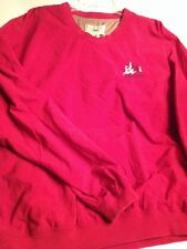 GEAR for Sports Windbreaker Nylon Golf Mens Womens Large Red Lawsonta logo