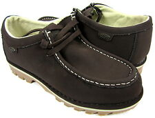 Lugz Shoes Wally Lo Classic Nubuck Leather Chocolate/Cream Boots Size 9 EUR 42