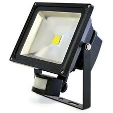 Lloytron L8513 Passive IR 30w LED Floodlight Mains Motion Sensor Security Black