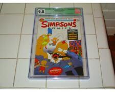 SIMPSONS COMICS #1 CGC 9.8 FANTASTIC FOUR #1 HOMAGE COVER