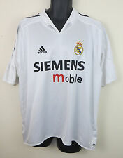 Adidas 2004-05 Real Madrid Football Shirt Home Soccer Jersey Camisa Camiseta XL