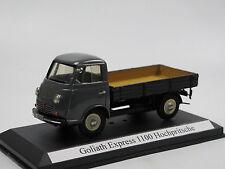 1953 Goliath Express 1100 Hochpritsche grau 1/43 Resine, early Pivtorak / EMC