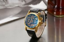 Gents Auto Mechanical Watch Orologio Automatico Stile Retro