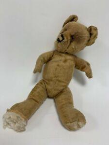 Vintage 1960s? Stuffed Teddy Bear Possible Haunted Item & Negative Evil Energy