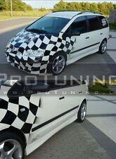 VW Volkswagen Sharan 95-06 GONNE LATERALI SIDESKIRT Spoiler Copertura Gonna Davanzale copre