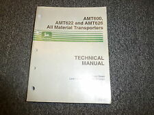 John Deere AMT600 AMT622 AMT626 Vehicle Repair Service Shop Manual Book TM1363