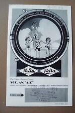 WELTA WELTIX WELTINI WELTUR BROCHURE DEPLIANT 1939 MACCHINA FOTOGRAFIA SOFFIETTO