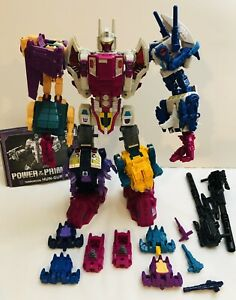 Transformers Power of the Primes Abominus Combiner 100% Complete + Upgrade Kit