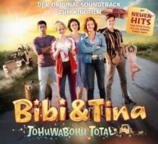 BIBI & TINA Tohuwabohu Total CD 2017 Lina Peter Plate Soundtrack * NEU