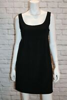 Hot Options Brand Black Sleeveless Pinafore Dress Size 10 BNWT #SF38
