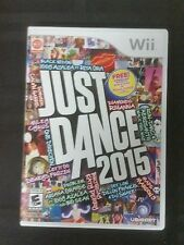 Replacement Case (NO GAME) JUST DANCE 2015 NINTENDO WII