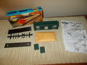 ATHEARN 1202 40' CJ&E AAR BOX CAR KIT, SOUTHERN PACIFIC RR, EXCELLENT UNBUILT