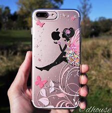 MADE IN JAPAN Soft Clear TPU Case Cute Fairy for iPhone 7 Plus