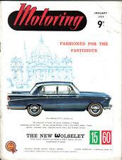Motoring 1/59 Nuffield Mag Wolseley 15/60 Petrol Pumps rack & Pinion Steering +