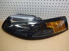 01 02 03 04 FORD MUSTANG COBRA BLACK CHROME LEFT DRIVER HEADLIGHT OEM