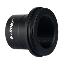 "Black Astronomical Telescope Camera Adapter Metal Bracket 1.25"" T Mount M42x0.75"