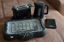 Tefal Haushaltsgeräte Toaster, Wasserkocher, OK Elektrogrill und Küchenwaage