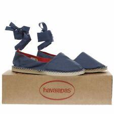Havaianas Origine delgada plana azul tamaño del zapato 5