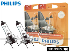 H7 Authentic PHILIPS Standard Halogen 12V Bulbs 12972B1 OEM Quality   Pack of 2