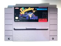 Spindizzy Worlds SUPER NINTENDO SNES GAME Tested + Working & Authentic!