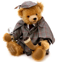 Sherlock Holmes limited edition teddy bear by Hermann Spielwaren - 19318-8