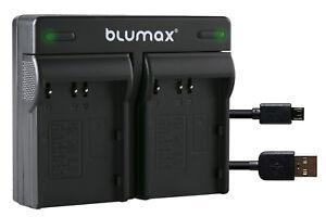 Akku Dual Ladegerät für Konica Minolta NP-400 - DiMAGE A1 DiMAGE A2  90108-90306